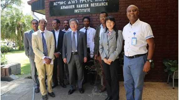 Ambassador of Japan to Ethiopia and Japan Embassy Medical Attaché Visited AHRI and ALERT Hospital Emergency center