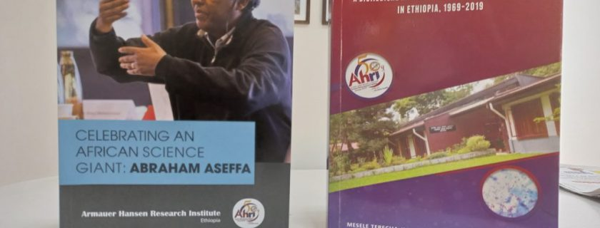 Two Books Officially Inaugurated Depicting AHRI's 50 Year Journey And The Journey Of The African Science Giant: Abraham Aseffa
